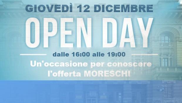 Prenotati al prossimo Open Day