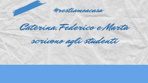 Lettera dei rappresentanti agli studenti