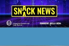Snack News, il Moreschi C'è